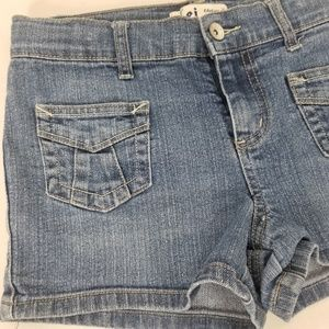 lei Bottoms - Lei Denim Shorts Girls Sz 12